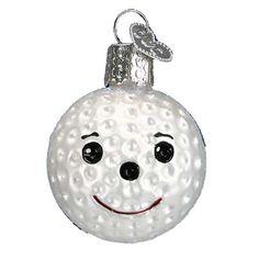 christmas golf ball ornament - Bing Images