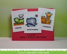 Helloand welcome to Lawn Fawn's Summer2017 Inspiration and Release  week! OnMay 18thour 10 new stamp sets and their coordinating  die...