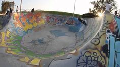 freestyle scooter au skate park #ride