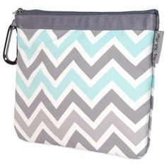 Baby Bella Maya™ Diaper Clutch in Peek-a-Blue - BedBathandBeyond.com