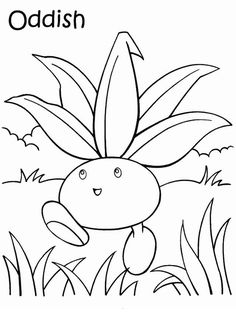 Disegni da colorare per bambini. Colorare e stampa Pokemon 24