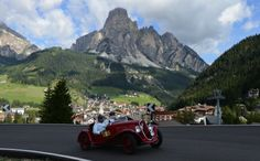July 17th-20th, 2014 -  COPPA D'ORO delle DOLOMITI in the Dolomites (Northern Italy)  If you plan to visit the Dolomites and you're a vintage car enthusiast, this is a really beautiful event. Cortina d'Ampezzo is a small town in the Dolomites famous for hosting the 1956 Winter Olympics. A lovely spot in the summer - and you can see many VIPs on ski slopes in winter.