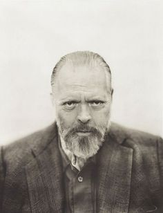 Orson Welles photographed by Michael O'Neill