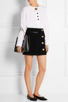 Balenciaga|Mini-jupe en tweed|NET-A-PORTER.COM
