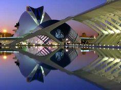 The Valencia Opera House (Valencia, Spain) - Calatrava
