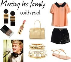 """Meeting his family"" by oned-outfits ❤ liked on Polyvore"