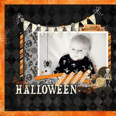 Happy Halloween - Scrapbook.com