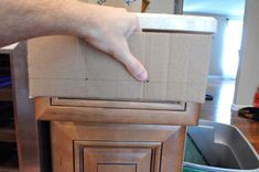 Great instructions for installing cabinet and drawer pulls and knobs.