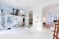 Temporary store milano corso garibaldi TS 62 Temporary Store, Oversized Mirror, Gallery Wall, Loft, Furniture, Home Decor, Homemade Home Decor, Lofts, Home Furnishings