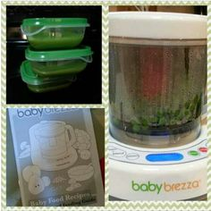 Today we invested in a Baby food processor made by Baby Brezza. we did A LOT of research as to which one to purchase. I already made peas and carrots and it came out perfect and little one LOVED the peas.  (haven't tried carrots yet....we froze it until we know he is not allergic to peas). if you have $85 to $100 to spend I'd highly recommend this one (: