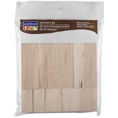 Artminds® Basswood Whittler's Kit, 10 Piece