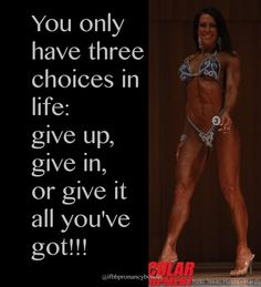 Give it all you got!