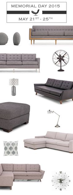 Joybird a Mid-Century Modern Online Furniture Company based out of L.A. Design at your fingertips, we deliver it for free.
