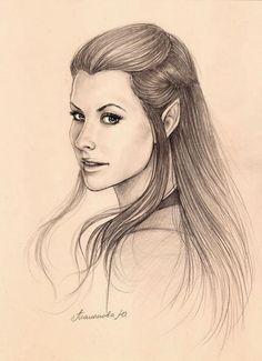 Beautiful Tauriel Sketch!
