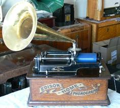 Edison Home Phonograph, 4min type