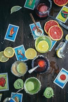 For Day of the Dead parties, Brooklyn-based caterer Naturally Delicious prepares tequila-based cocktails. Drinks may include watermelon margaritas and mango margaritas made with Domaine de Canton and a chili-salt rim.    Photo: Courtesy of Naturally Delicious