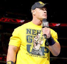 John Cena in yellow and navy. Rap Singers, Celebrity Stars, Wwe Champions, Free Agent, John Cena, Wwe Superstars, Sexy Men, Hot Guys, Rapper