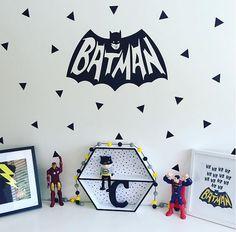 Hey, I found this really awesome Etsy listing at https://www.etsy.com/au/listing/258857352/batman-superhero-monochrome-wall-decal