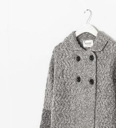 Image 3 of KNITTED CARDIGAN from Zara