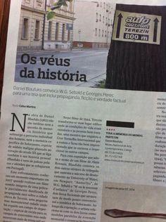 """""""Toda a Memória do Mundo, Parte Um"""" - Daniel Blaufuks, Jornal Expresso"""