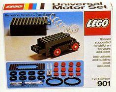 Motorized Legos 1970s