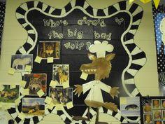 Three Little Pigs... Wolf calendar- kids add new learning!!   Glyph Girls!