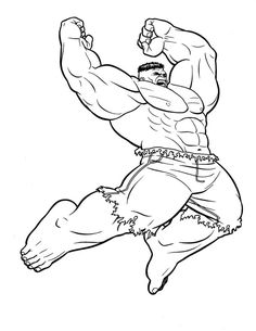 Hulk Coloring Pages. The Hulk is a green superhero who appears in American comics published by Marvel Comics. Get The Hulk coloring pictures here and also get h Hulk Coloring Pages, Avengers Coloring Pages, Superhero Coloring Pages, Spiderman Coloring, Marvel Coloring, Coloring Pages For Boys, Coloring Pages To Print, Free Coloring Pages, Printable Coloring Pages