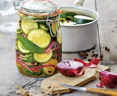 Cuketové matesy | Recepty Albert Preserves, Pickles, Cucumber, Recipes, Food, Syrup, Meal, Eten, Preserving Food