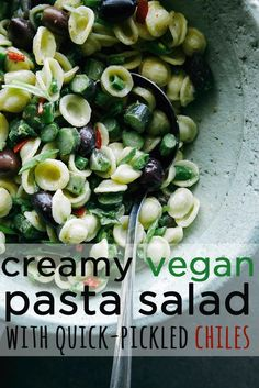 Easy And Delicious Spring Pasta Salad