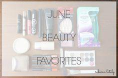 Rebecca Lately // Makeup Monday: June Beauty Favorites