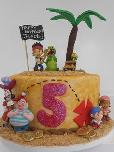 Jake and the Neverland Pirates cake (2018) | Flickr - Photo Sharing!