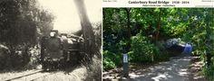 CANTERBURY ROAD BRIDGE: 1938 - 2014 Outer Circle Line - Canterbury