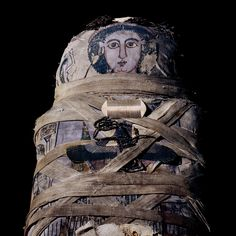 Mummy of Cleopatra from Qurna, Thebes, Egypt - Roman period, early 2nd century AD |  A young woman of 17. She died some 150 years after her famous namesake, Cleopatra VII. | British Museum