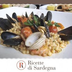 """""""Mi piace"""": 450, commenti: 3 - Ricette di Sardegna (@ricettedisardegna) su Instagram: """"Un incontro perfetto per questa fregula che mantiene tutti i gusti di terra e di mare. …"""""""