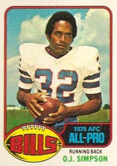OJ Simpson, Buffalo Bills