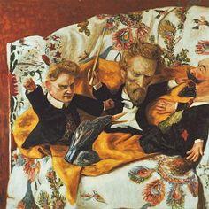 Kvartetti (Quartet), 1911 by Hugo Simberg on Curiator, the world's biggest collaborative art collection. Taoism, Triple Goddess, City Of Angels, Collaborative Art, Man Ray, Biography, Surrealism, Dark, Gallery