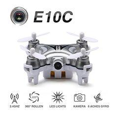 ONCHOICE E10C Mini Quadrocopter Drohne mit 2MP Kamera Spielzeug Weinachten Geschenk