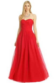 ML Monique Lhuillier Glass Slipper Gown. Red Ball GownsBall DressesFormal  DressesElegant ... b7b7f59db889