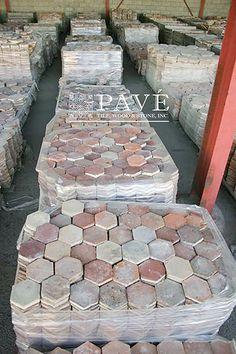 Pavé Tile, Wood & Stone, Inc. Brick Flooring, Engineered Oak Flooring, Decorative Wall Tiles, Wood Stone, Terracotta, Home Reno, Interior Decorating, Backyard, Tile Wood