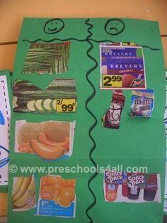 preschool childhood nutrition ideas