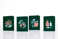 Holiday Cards by Darling Clementine.  http://www.darlingclementine.no/