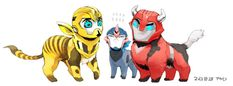Try all you like Arcee, you wont be taller