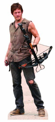 Top 99 Gift Ideas for The Walking Dead Fans | Gifts For Gamers & Geeks - Daryl Dixon  Life Size Cut Out
