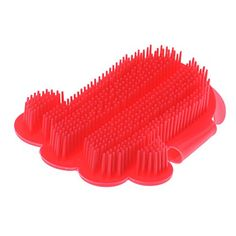chendongdong Comfortable Pet Dog Bath Brush Comb Rubber Shower Cheaning Massage Grooming Dog Cat Brush Glove Red -- Details can be found by clicking on the image.