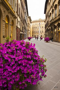 Via Tornabuoni - High Fashion in Florence, Italy
