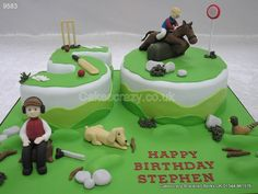Hunting Shooting Horse Racing Cake http://www.cakescrazy.co.uk/details/hunting-shooting-horse-racing-number-cake-9583.html