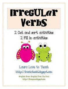 FREE Irregular Verb Activities