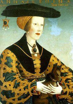 Hans Maler : Queen Anne of Hungary,  1520. Museo Thyssen-Bomemisza, Madrid, Spain.