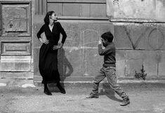 Ferdinando Scianna ITALY. 1987. Sicily. Province of Catania. Caltagirone. The Italian model MARPESSA.Magnum Photos Photographer Portfolio