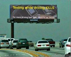 Texting While Driving Kills